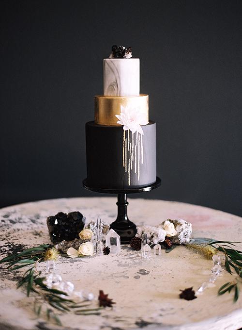 Modern Crystal Inspired Shoot