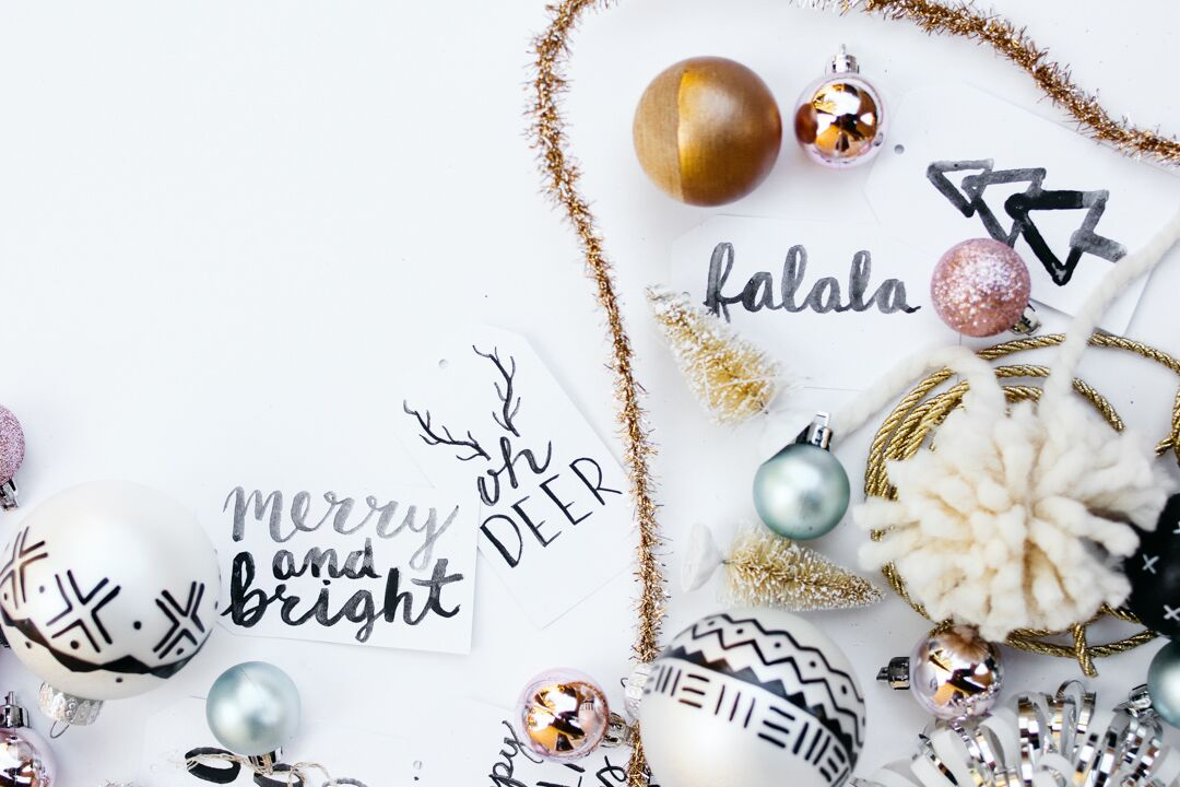DIY Christmas Tag and Wrapping Inspo